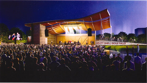 Levitt Shell at the Sioux Falls