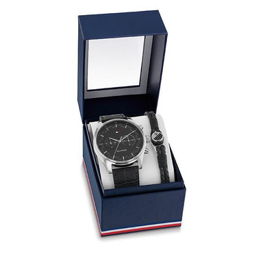 Tommy Hilfiger Black Men's Watch (2770097)-Cocomi Malaysia
