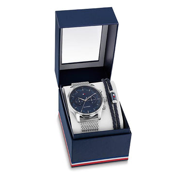 Tommy Hilfiger Blue Men's Watch (2770102)-Cocomi Malaysia