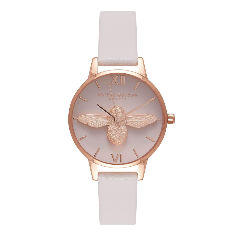 3D BEES Rose-Gold 30 mm Women's Watch-Cocomi Malaysia
