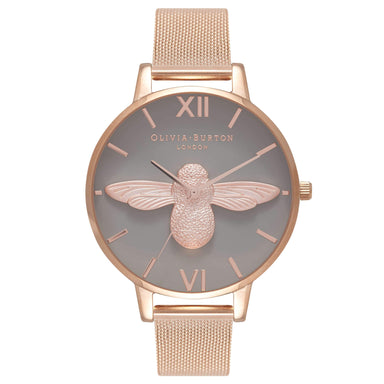 3D Bees Rose-Gold 38 mm Women's Watch-Cocomi Malaysia