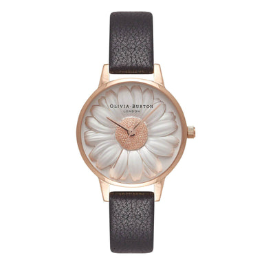 3D DAISY Rose-Gold 30 mm Women's Watch OB16FS97-Cocomi Malaysia