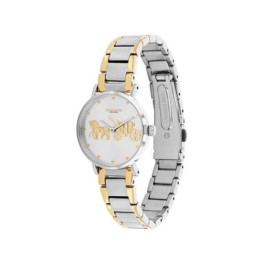 Coach Perry Silver White Women's Watch (14503792)-Cocomi Malaysia