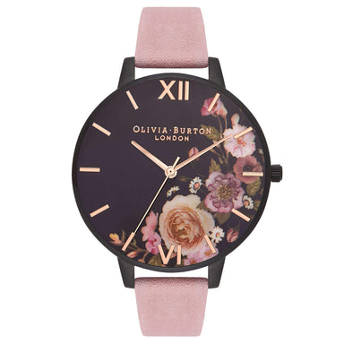 After Dark Rose Suede 38 mm Women's Watch-Cocomi Malaysia