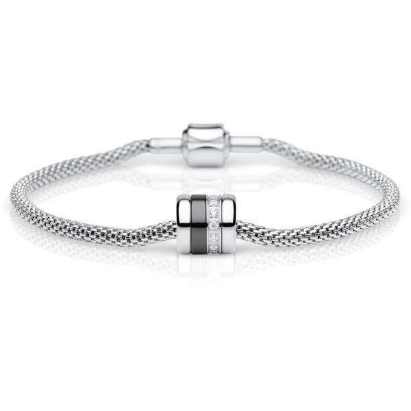 Bering Arctic Symphony Jewellery Polished Silver BESTFRIEND-2 Women's Charm-Cocomi Malaysia