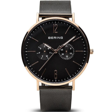 Bering Classic Black 40 mm Men's Watch (14240-163)-Cocomi Malaysia