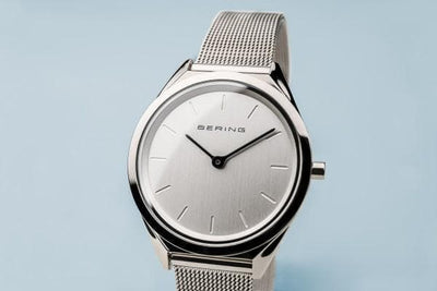 Bering Classic Silver 31 mm Unisex Watch (17031-000)-Cocomi Malaysia
