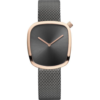 Bering Pebble Grey Women's Watch (18034-369)-Cocomi Malaysia