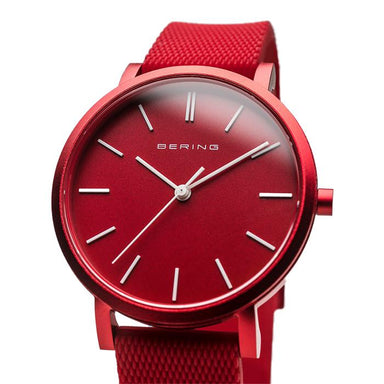 Bering True Aurora Red 34 MM Unisex Watch (16934-599)-Cocomi Malaysia