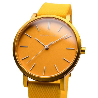Bering True Aurora Yellow 34 MM Unisex Watch (16934-699)-Cocomi Malaysia