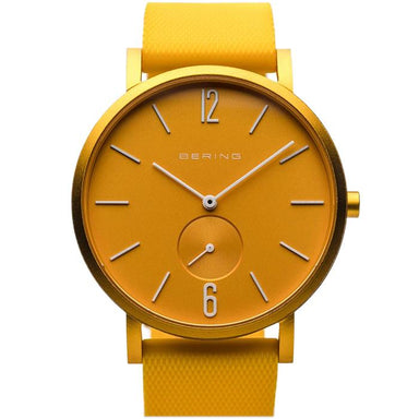 Bering True Aurora Yellow 40 MM Unisex Watch (16940-699)-Cocomi Malaysia