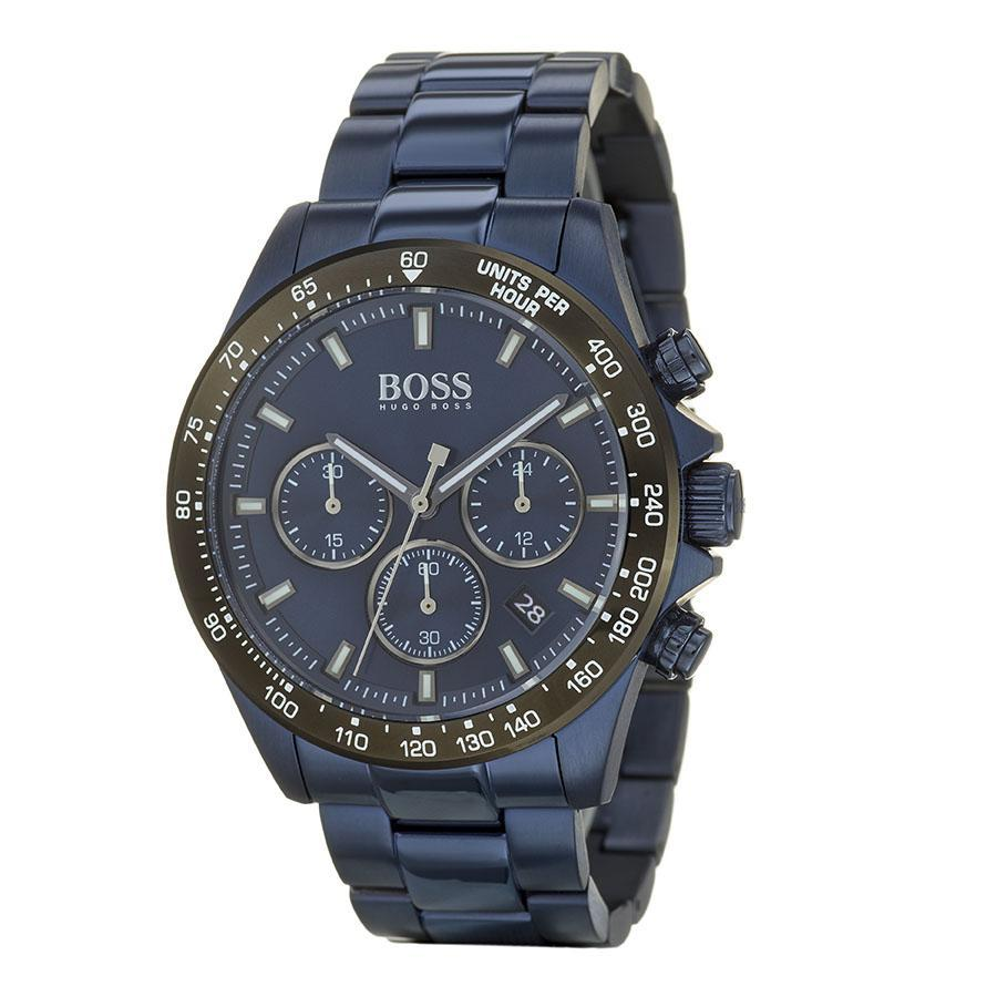 Boss Hero Blue Men's Watch (1513758)-Cocomi Malaysia