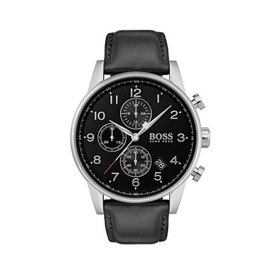 BOSS Navigator Black Men's Watch (1513678)-Cocomi Malaysia