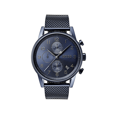 BOSS Navigator Blue Men's Watch (1513538)-Cocomi Malaysia