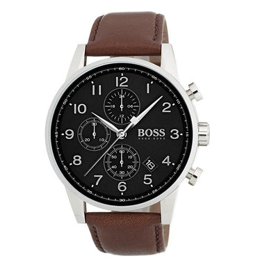 Boss Navigator Grey Men's Watch (1513494)-Cocomi Malaysia