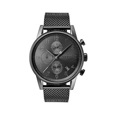 BOSS Navigator Grey Men's Watch (1513674)-Cocomi Malaysia