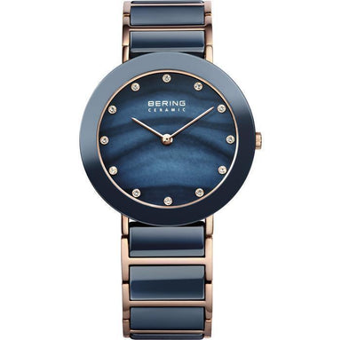 Ceramic 11435-767 Blue 35 mm Women's Watch-Cocomi Malaysia