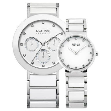 Ceramic 11438-754 38 mm Men's Watch X Ceramic 10729-754 29 mm Women's Watch-Cocomi Malaysia