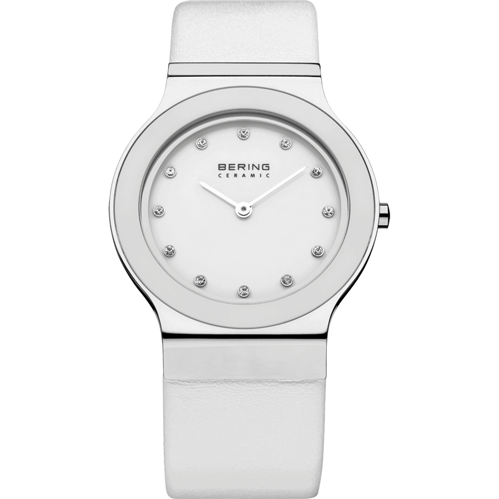 Ceramic 32834-654 White 34 mm Women's Watch-Cocomi Malaysia