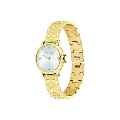 Coach Arden Silver White Women's Watch (14503692)-Watches-Cocomi Malaysia