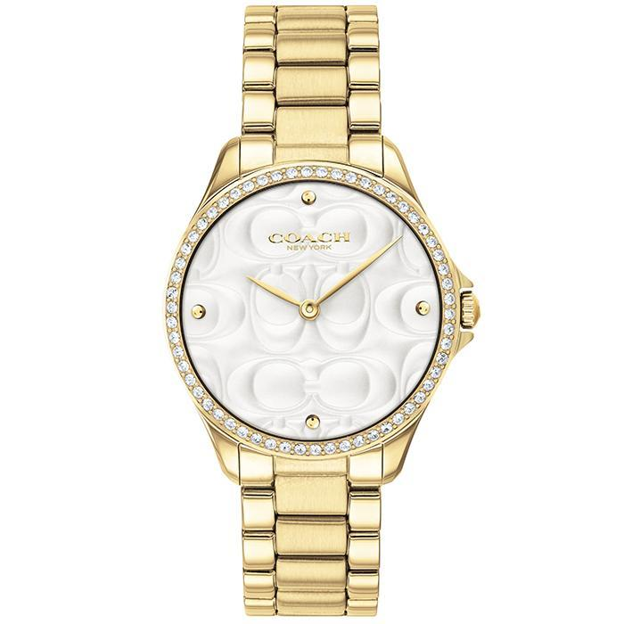 COACH ASTOR GOLD Women's Watch (14503071)-Cocomi Malaysia