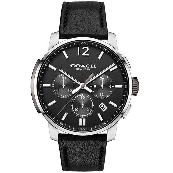 COACH BLEECKER CHRONO BLACK 42 MM WOMEN'S WATCH (14602014)-Cocomi Malaysia