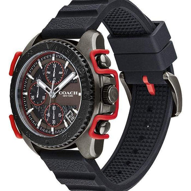 Coach C001 Black Men's Watch (14602453)-Cocomi Malaysia