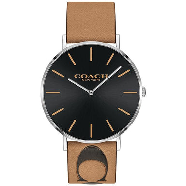 COACH CHARLES BLACK 41 MM WOMEN'S WATCH (14602420)-Cocomi Malaysia