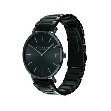 Coach Charles Black Men's Watch (14602431)-Cocomi Malaysia