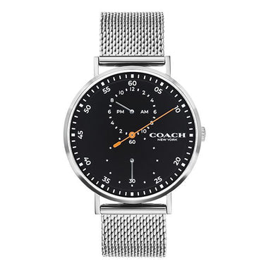 Coach Charles Black Men's Watch (14602477)-Cocomi Malaysia