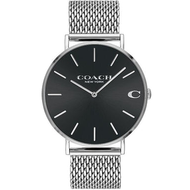 Coach Charles Black Women's Watch (14602144)-Cocomi Malaysia