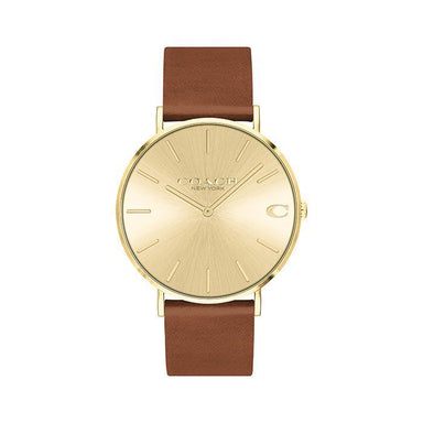 Coach Charles Gold Men's Watch (14602433)-Cocomi Malaysia