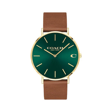 Coach Charles Green Men's Watch (14602435)-Cocomi Malaysia