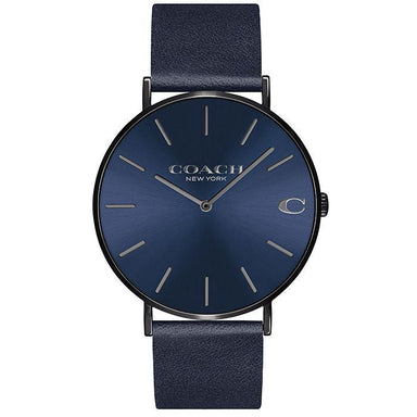 Coach Charles Navy Men's Watch (14602472)-Cocomi Malaysia