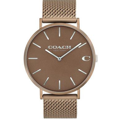 Coach Charles Rose Gold Women's Watch (14602471)-Cocomi Malaysia