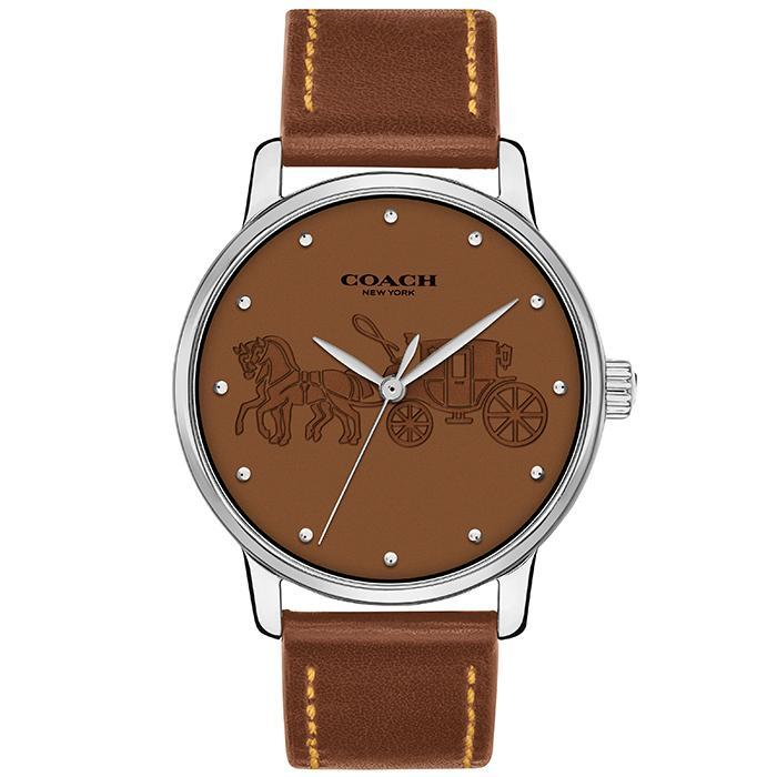 Coach Grand Brown Women's Watch (14502972)-Cocomi Malaysia