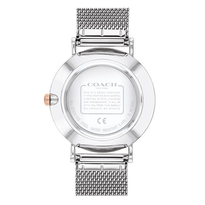Coach Perry Silver White Women's Watch (14503336)-Cocomi Malaysia