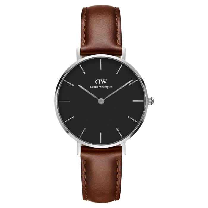Daniel Wellington Petite Black 32mm Women's Watch (DW00100181)-Cocomi Malaysia