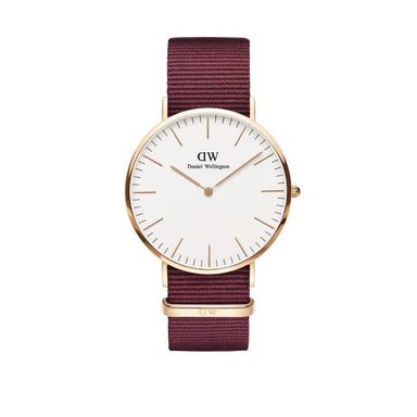 Daniel Wellington Classic White 36mm Men's Watch (DW00100267)-Cocomi Malaysia