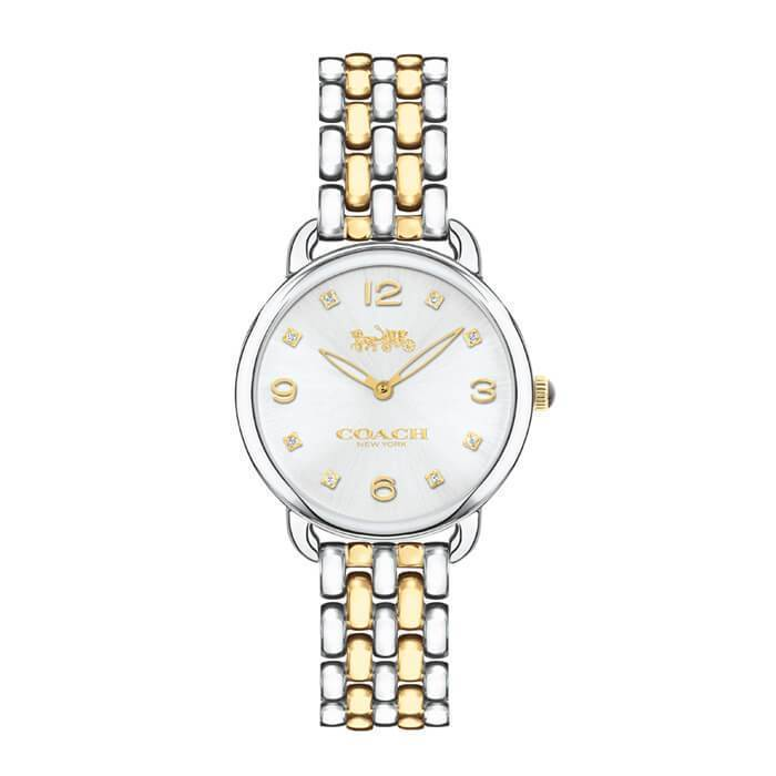 Delancey Slim Gold & Silver 28 mm Women's Watch-Cocomi Malaysia