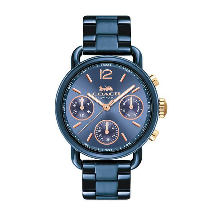 Delancey Sport Blue 36 mm Women's Watch-Cocomi Malaysia