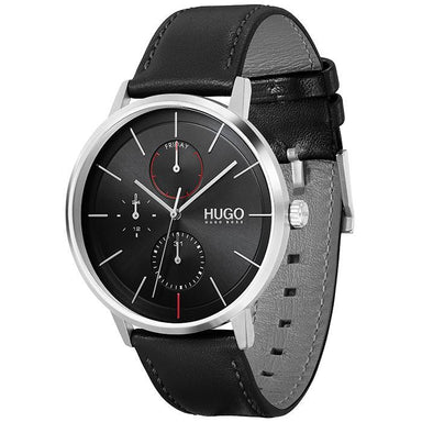 HUGO Exist Black Men's Watch (1530169)-Cocomi Malaysia