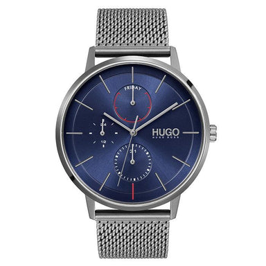 HUGO Exist Blue Men's Watch (1530171)-Cocomi Malaysia