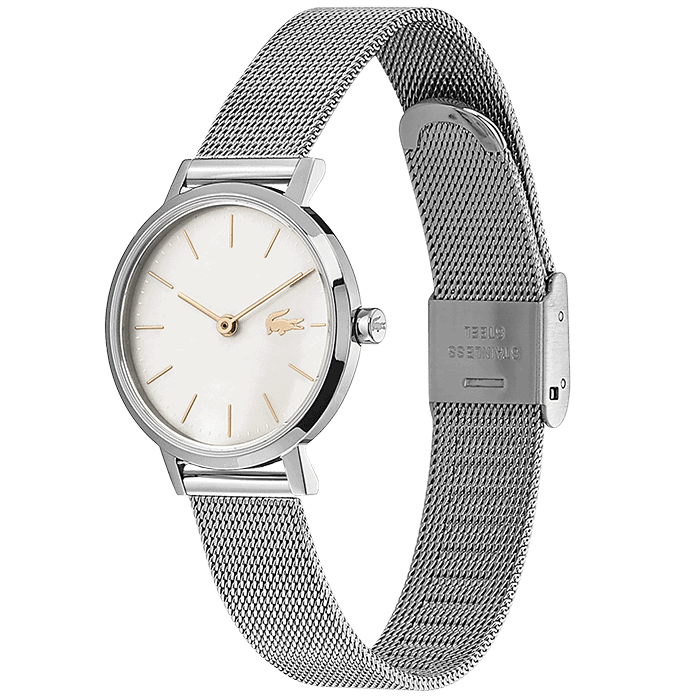 Lacoste Moon Grey Mother Of Pearl Women's Watch (2001121)-Cocomi Malaysia