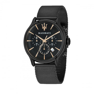 Maserati Epoca Black Sunray Men's Watch (R8873618006)-Cocomi Malaysia