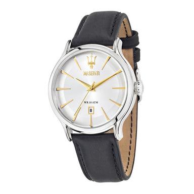 Maserati Epoca White Silver Men's Watch (R8851118002)-Cocomi Malaysia