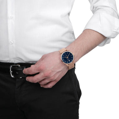 Maserati Gentleman Blue Men's Watch (R8853136003)-Cocomi Malaysia