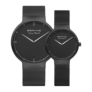 Max Rene 15531-123 Black 31 mm Women's Watch X Max Rene 15540-123 Black 40 mm Men's Watch-Cocomi Malaysia