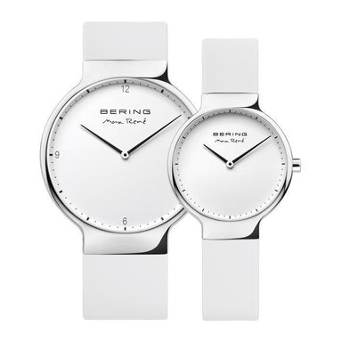 Max Rene 15531-904 White 31 mm Women's Watch X Max Rene 15540-904 White 40 mm Men's Watch-Cocomi Malaysia