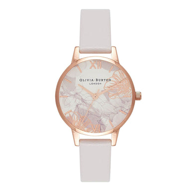Olivia Burton Abstract Florals Blush 30 mm Women's Watch-Cocomi Malaysia